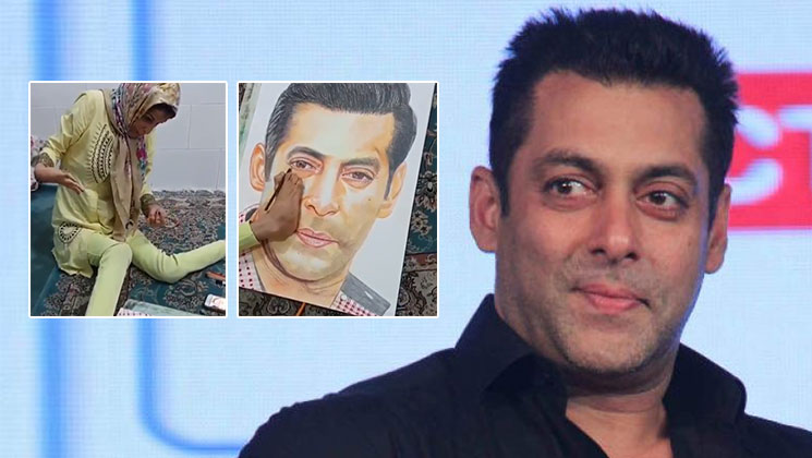 Salman is overwhelmed by the love showered on him by his specially-abled fan | Bollywood Bubble