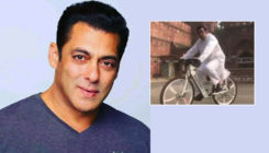 Salman Khan cycles outside Delhi's Red Fort and brings time to a standstill - watch video