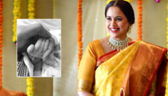 Sameera Reddy blessed with a baby girl; shares her first picture