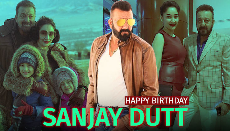 Sanjay Dutt Birthday Special: 7 pictures of 'Sanju' that shows family comes first for him