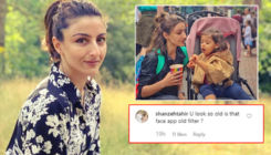 Soha Ali Khan's adorable pic with Inaaya slammed; trolls say she's used FaceApp