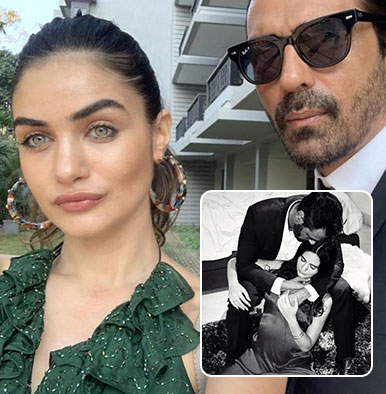 First Picture: Arjun Rampal cuddling his little boy is too cute