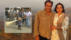 Dharmendra has a perfect reply for trolls mocking Hema Malini for her viral sweeping video