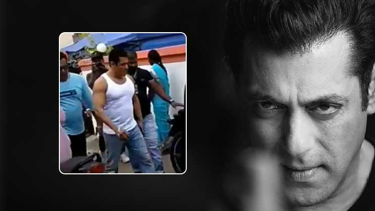 Check out Salman Khan's swag walk on the sets of 'Dabangg 3' | Bollywood Bubble