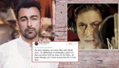 Shah Rukh Khan slammed by Pakistani actor Shaan Shahid for dubbing 'The Lion King'; SRK fans bash the actor black and blue