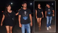 Sushant Singh Rajput and alleged GF Rhea Chakraborty spotted post dinner date