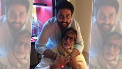 Abhishek Bachchan wishes Pa Amitabh Bachchan on his 'second birthday' with a throwback pic