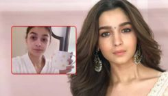 Alia Bhatt REVEALS her morning routine from the sets of 'Sadak 2'- watch