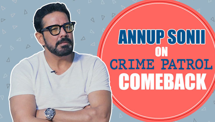 Annup Soni opens up about his comeback on 'Crime Patrol'