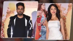 Ayushmann Khurrana and Nushrat Bharucha launch the trailer of 'Dream Girl' with team