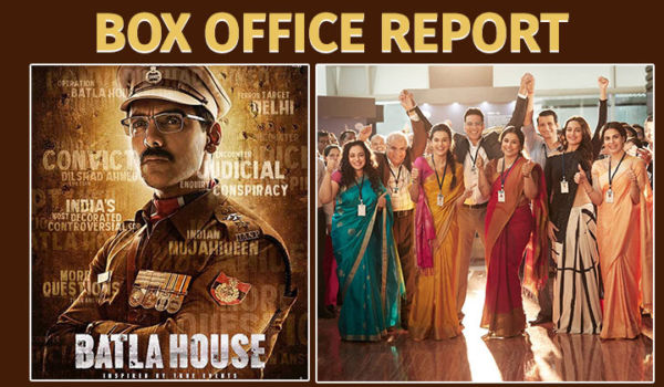 Box-Office Report: THIS is how much 'Mission Mangal' and 'Batla House' have earned till now