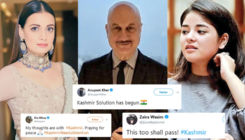 Article 370 Scrapped: Dia Mirza, Anupam Kher and Zaira Wasim react on the Jammu and Kashmir crisis