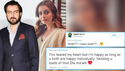 Dia Mirza and Sahil Sangha separate after 11 years: Twitterati is left in shock