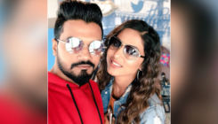 Hina Khan and Rocky Jaiswal shell out couple goals going for a coffee and movie date