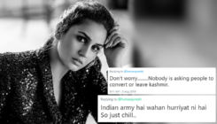 Huma Qureshi asks what's happening in Kashmir; trolls revert with 'Indian army will take care'