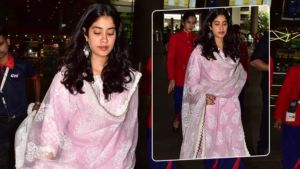 Janhvi Kapoor back in town on mom, Sridevi's birth anniversary after praying at Tirupati - view pics