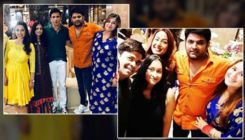 Kapil Sharma and pregnant wife Ginni Chatrath attend a friend's baby shower - view pics