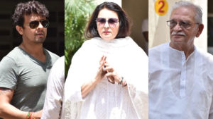 Khayyam Funeral: Gulzar, Sonu Nigam, Poonam Dhillon bid adieu to the legendary music composer