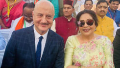 Anupam Kher wishes wife Kirron Kher on their wedding anniversary; says,