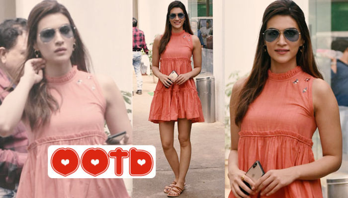 Kriti Sanon is here to tell you that orange is the new black