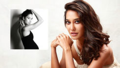 19 weeks pregnant Lisa Haydon flaunts her baby bump in style - view pic