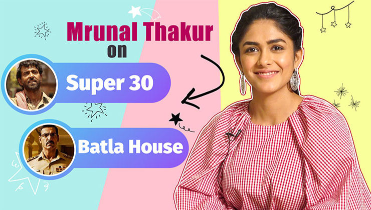 Mrunal Thakur on Hrithik Roshan's 'Super 30' and John Abraham's 'Batla House'