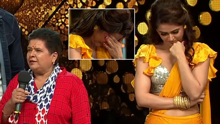 'Nach Baliye' 9: Madhurima Tuli breaks down on stage; fans call it 'fake and scripted' | Bollywood Bubble