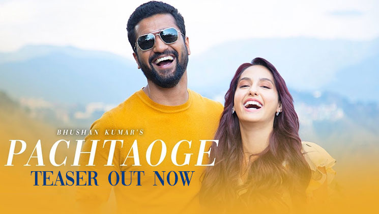 Pachtaoge Teaser: Vicky Kaushal-Nora Fatehi's first glimpse will make you impatient for the romantic ballad | Bollywood Bubble