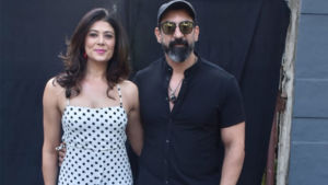 Pooja Batra and Nawab Shah flash some major couple goals - view pics