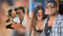 Pics: Prateik Babbar and Sanya Sagar's passionate kiss from their vacation is breaking the internet