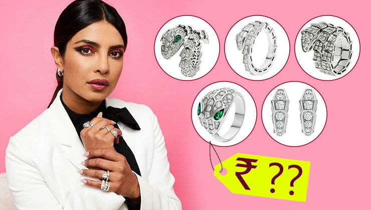 Priyanka Chopra has an insanely expensive set of diamond rings