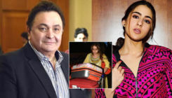 Sara Ali Khan applauded by Rishi Kapoor as she tugs her own luggage at the airport