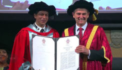 Shah Rukh Khan wins honorary doctorate at IFFM; becomes only actor to have 5 doctorates