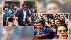 Shah Rukh Khan gets mobbed badly by his fans in Australia - watch video