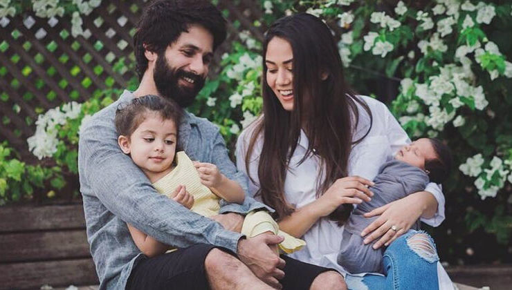 Shahid Kapoor and Mira Rajput to move into their new abode with kiddies Misha and Zain?