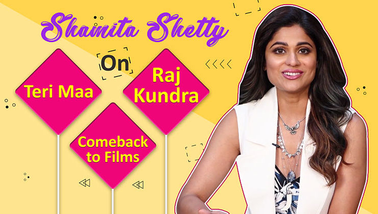 Shamita Shetty's candid confessions on 'Teri Maa', Raj Kundra and comeback to Bollywood