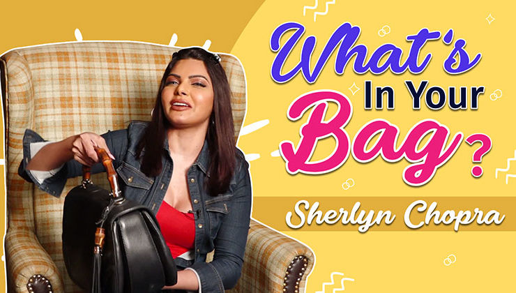 Sherlyn Chopra wants to STEAL something from Kim Kardashian's bag-watch