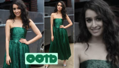 'Chhichhore': Shraddha Kapoor stuns in a Daniele Carlotta off-shouldered dress for promotions