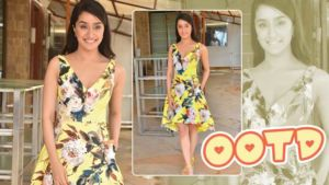 'Chhichhore': Shraddha Kapoor looks fresh as a daffodil in a floral dress at the promotion