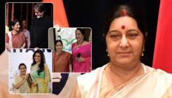 Sushma Swaraj's warm relationship with Bollywood celebs captured in pictures