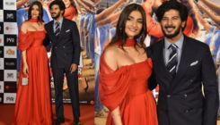 'The Zoya Factor' Trailer launch: Sonam Kaoor and Dulquer Salmaan complement each other with their outfits