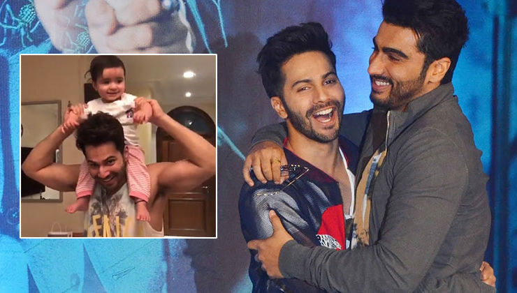 Varun Dhawan shares an adorable video with niece; warns Arjun Kapoor against commenting for this reason