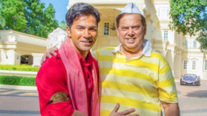Varun Dhawan and David Dhawan