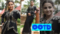 Vidya Balan shows how a dramatic blouse can change your casual look