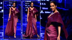 Lakme Fashion Week 2019: Pregnant Lisa Haydon ups the fashion game on the ramp