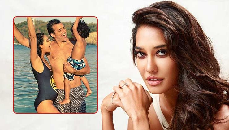 Lisa Haydon announces second pregnancy with an adorable beach pic with family