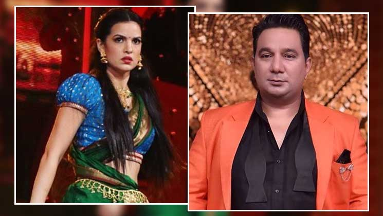 Nach Baliye 9: Ahmed Khan miffed at Natasa Stankovic's behaviour after she walked out from stage | Bollywood Bubble