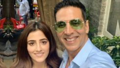 Akshay Kumar starts shooting for his first music video with Kriti Sanon's sister Nupur-view pics