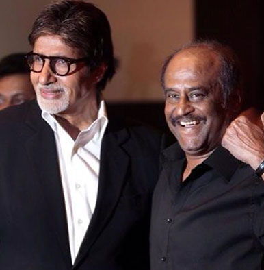 Amitabh Bachchan and Rajinikanth are neighbours now? Deets inside