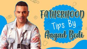 Rocking parenting tips by Angad Bedi-watch